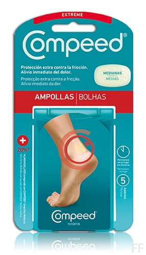 Compeed Ampollas Extreme Talla M 5 Ud