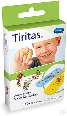 Tiritas Kids - Hartmann (20 uds, 2 tamaños)