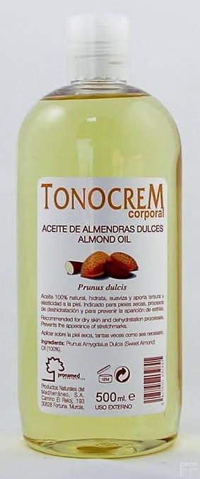 Aceite de Almendras Dulces Tonocrem 500 ml