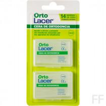 OrtoLacer / Cera de Ortodoncia Formato ahorro - Lacer (14 barras)