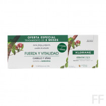 Klorane Keratin Caps Fuerza y vitalidad Quinina y Queratina 90 cápsulas