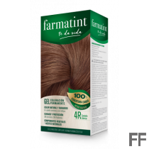 Farmatint 4R Castaño Cobrizo Gel (150 ml)