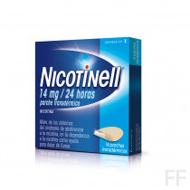 NICOTINELL (14 MG/24 H 7 PARCHES TRANSDERMICOS 3