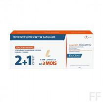 Anacaps / Progressiv Complemento alimenticio - Ducray (2 meses + 1 mes regalo)