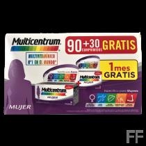 Multicentrum Mujer 90 + 30 Comprimidos Gratis