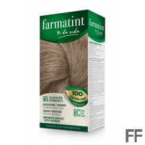 Farmatint 8C Rubio Claro Ceniza Gel (150 ml)