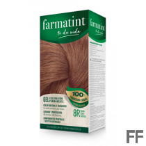 Farmatint 8R Rubio Claro Cobrizo Gel (150 ml)