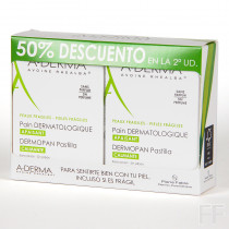 Duplo Aderma Dermopan Pastilla calmante 2 x 100 g