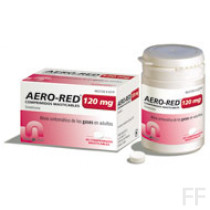 aero red 120 mg comp masticables
