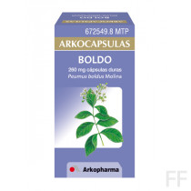 Arkocápsulas Boldo Peumus boldus