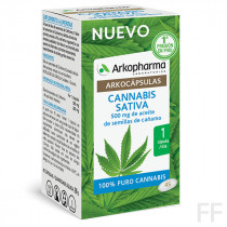 Arkocápsulas Cannabis Sativa 45 cápsulas Arkopharma