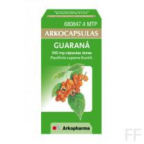 Arkocápsulas Guarana Paullinia cupana