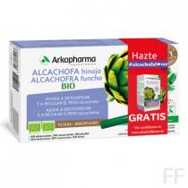 Arkofluido Alcachofa e Hinojo Bio 20 ampollas / Arkopharma