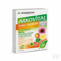 Arkovital Pura energía Inmunoplus Multivitaminas 30 comprimidos