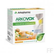 Arkovox dolor de garganta miel y limón 20 comprimidos