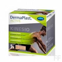 DermaPlast ACTIVE Kinesio Tape Cinta kinesiológica CARNE