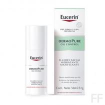 DermoPure / Fluido Facial Hidratante Matificante - Eucerin (50 ml)