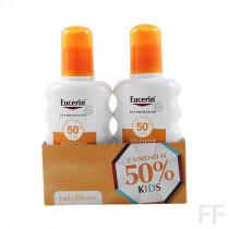 Duplo Eucerin Sun Spray Infantil Sensitive Protect SPF50+ 2 x 200 ml