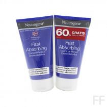 Duplo Neutrogena Crema de Manos Rápida Absorción 2 x 75 ml
