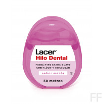 Lacer Hilo Dental Sabor Menta 50 m