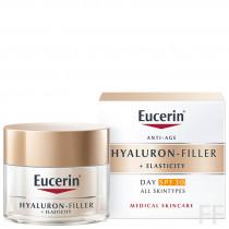 Eucerin Hyaluron Filler + Elasticity Crema de dia SPF30 50 ml
