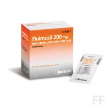 Fluimucil 200 mg sobres