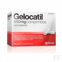 GELOCATIL 650 MG COMPRIMIDOS