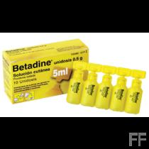 betadine 10 unidosis