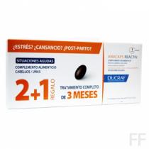 Anacaps / Reactiv Complemento alimenticio - Ducray (2 + 1 mes regalo)