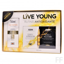 Pack Isdinceutics Live Young Age Repair y Ampollas Flavo C