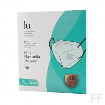Mascarillas FFP2 Adultos Caja 20 uds JU