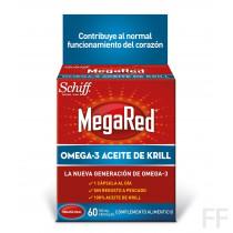 MegaRed Omega-3 Aceite de Krill - 60 uds