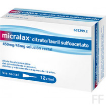 micralax 12 microenemas