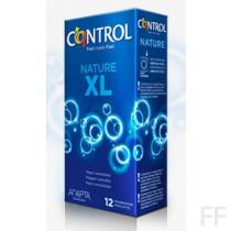 Control Preservativo Nature XL 12 Ud