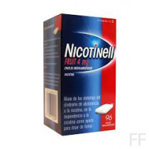 NICOTINELL FRUIT (4 MG 96 CHICLES MEDICAMENTOSOS
