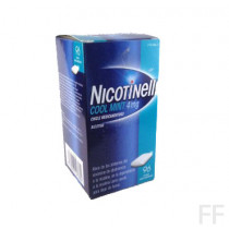 NICOTINELL COOL MINT (4 MG 96 CHICLES MEDICAMENTOSOS )
