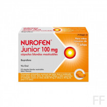 NUROFEN JUNIOR 100 MG CAPSULAS BLANDAS MASTICABLES