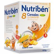 Nutriben 8 Cerales con miel y 4 Frutas