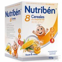 Nutriben 8 Cereales con un toque de miel
