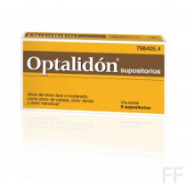 Optalidon supositorios