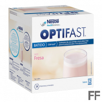 Optifast Batidos Fresa 12 sobres