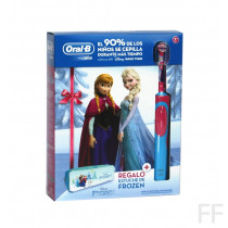 Oral B Cepillo eléctrico Stages Frozen + REGALO estuche