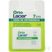 OrtoLacer Cera de ortodoncia 7 barras