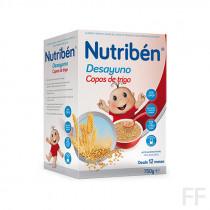 Nutriben Desayuno Copos de Trigo y Frutas 750 g