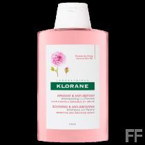 Klorane Champú calmante cuero cabelludo con Peonía 400 ml