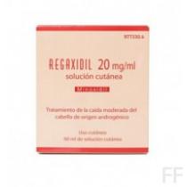 REGAXIDIL (20 MG/ML SOLUCION CUTANEA 2 FRASCOS 6