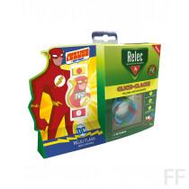 Relec / Pulsera antimosquitos Click-Clack + REGALO reloj Flash