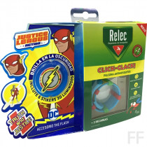 Relec Click Clack Pulsera antimosquitos + Stickers Flash