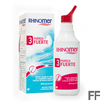 Rhinomer Fuerza 3 Fuerte Limpieza nasal