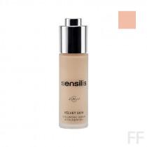 Sensilis Velvet Skin Hyaluronic Serum & Foundation 01 Amande